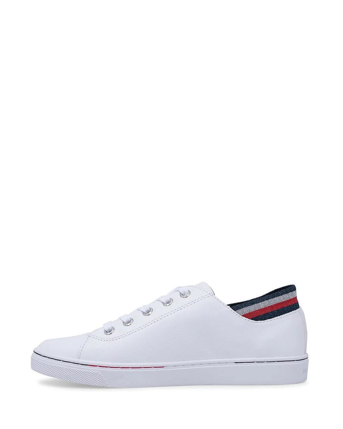 Tommy Hilfiger Glitter Detail City Sneaker FW0FW04705 White