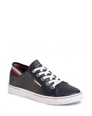 Tommy Hilfiger Glitter Detail City Kadın Sneakers FW0FW04705