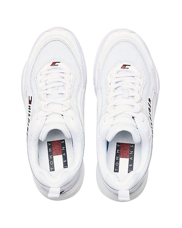 Tommy Hilfiger Heritage Tommy Jeans Wmns Runner EN0EN00792 White