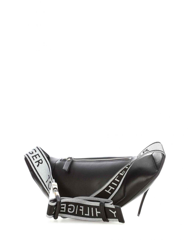 Tommy Hilfiger Iconic Bumbag Kadın Bel Çantası AW0AW06426 Black