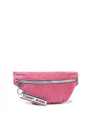 Logo Tape Kadın Bel Çantası  pink