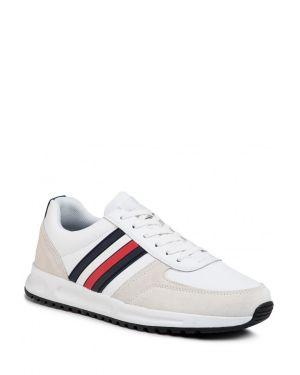 Modern Corporate Leather Runner Erkek Spor Ayakkabısı  White