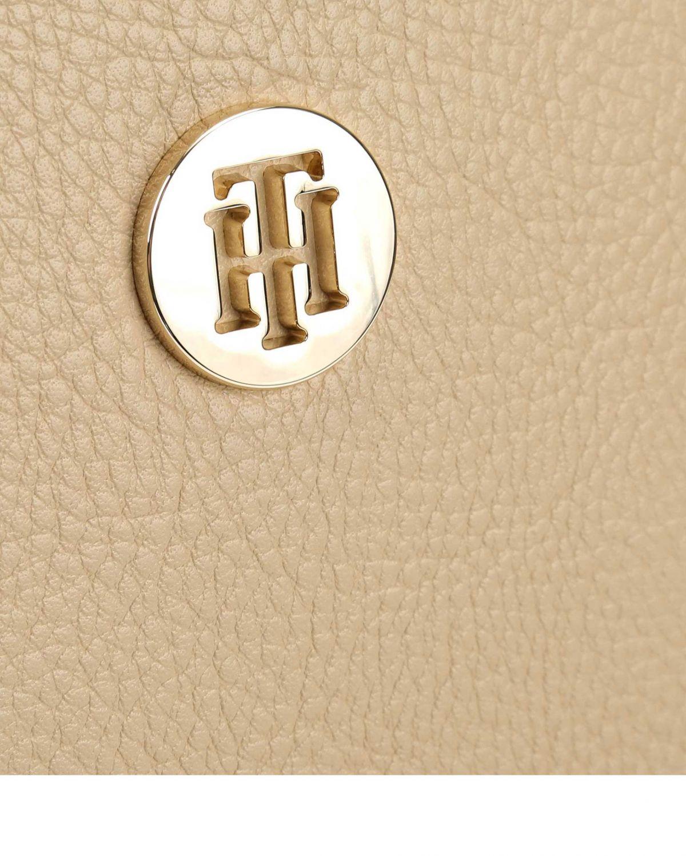 Tommy Hilfiger Th Core Kadın Sırt Çantası AW0AW06406 Ward Sand & Silver Metallic