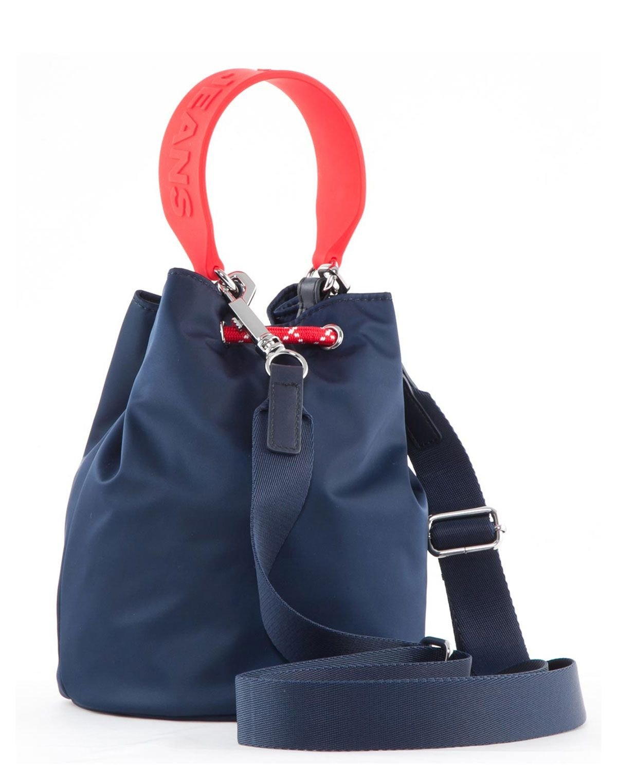 Tommy Hilfiger Tjw Nautical Mix Sm Bucket Nyl Kadın Body Bag AW0AW08052 Corporate