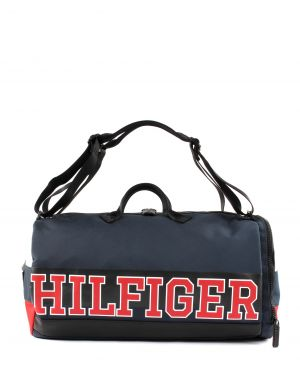 Tommy Hilfiger Varsity Nylon Duffle Convertible Spor Çantası AM0AM04521 Corporate