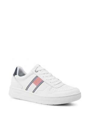 Tommy Hilfiger Basket Low Cupsole Sneakers FM0FM02843 White