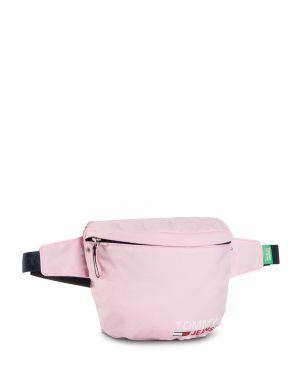 Tommy Hilfiger Campus Girl Bumbag Kadın Bel Çantası AW0AW08955 Pink Fanny Packs