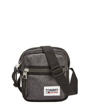 Tommy Hilfiger College Tech Çapraz Askılı Erkek Çantası AM0AM06772 Black