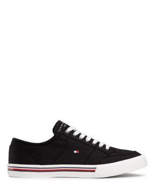 Tommy Hilfiger Core Corporate Textile Erkek Sneakers FM0FM03390