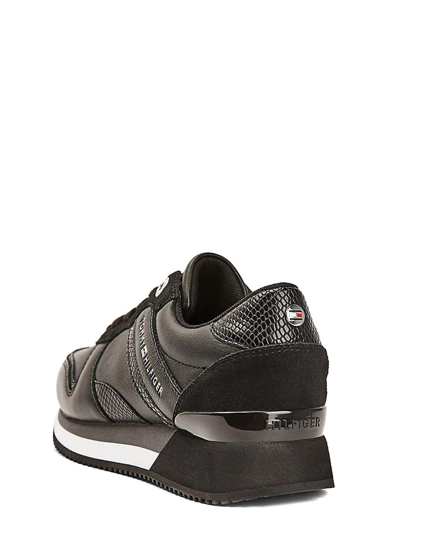 Tommy Hilfiger Corporate Feminine City Kadın Sneaker FW0FW05233 Black