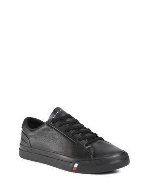 Tommy Hilfiger Corporate Leather Erkek Sneaker FM0FM02983