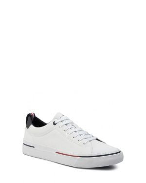 Tommy Hilfiger Corporate Leather Erkek Sneakers FM0FM02285