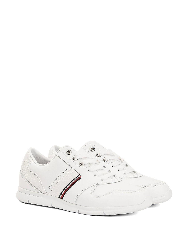 Tommy Hilfiger Corporate Lightweight Kadın Sneaker FW0FW05244 White