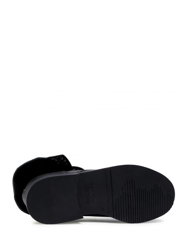 Tommy Hilfiger Essential Dressed Lace Up Boot Kadın Botu EN0EN01101 Black