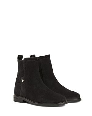 Essential Flat Boot Kadın Bot  Black