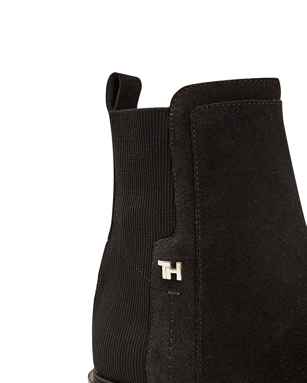 Tommy Hilfiger Essential Flat Boot Kadın Bot FW0FW05193 Black