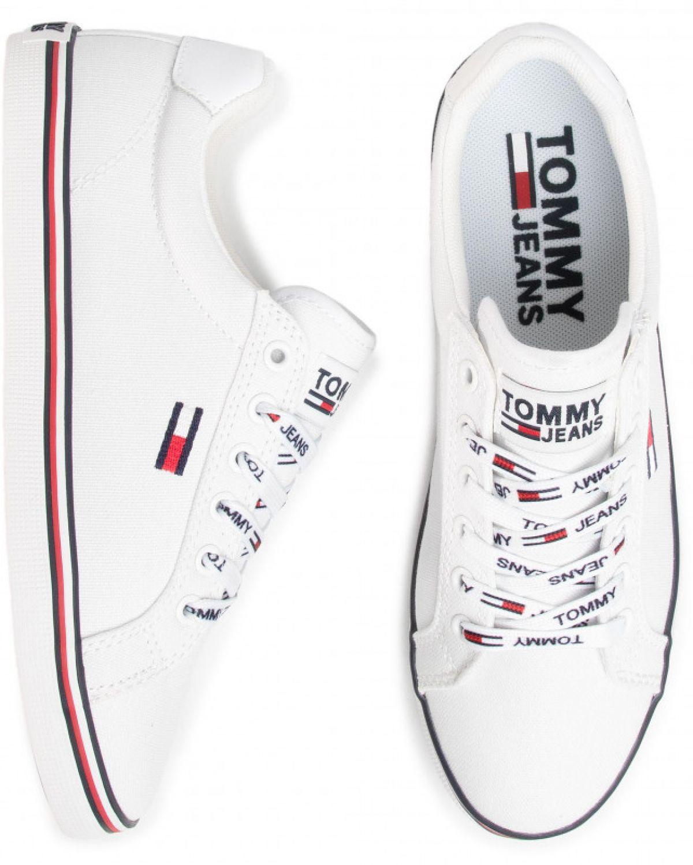Tommy Hilfiger Essential Lace Up Sneakers EN0EN00786 White