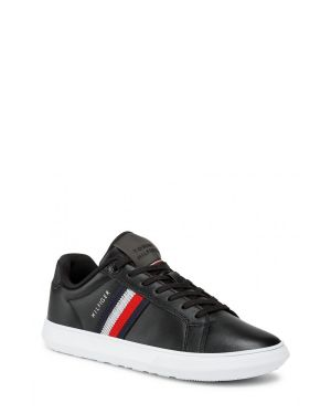 Tommy Hilfiger Essential Leather Cupsole Erkek Sneakers FM0FM03424