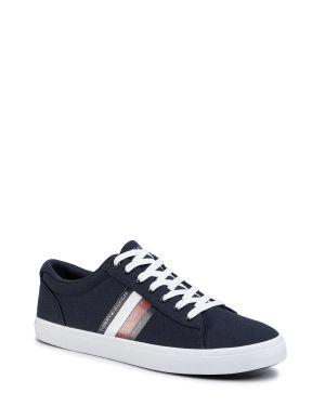 Essential Stripes Detail Sneaker Sneaker Erkek Ayakkabı  Navy Blue