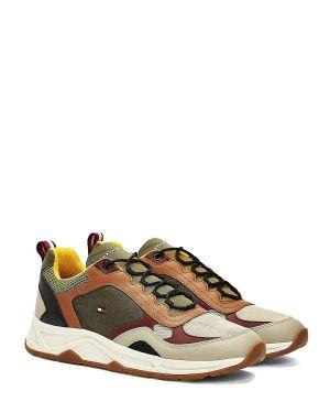 Tommy Hilfiger Fashion Mix Erkek Sneaker FM0FM02846 Stone