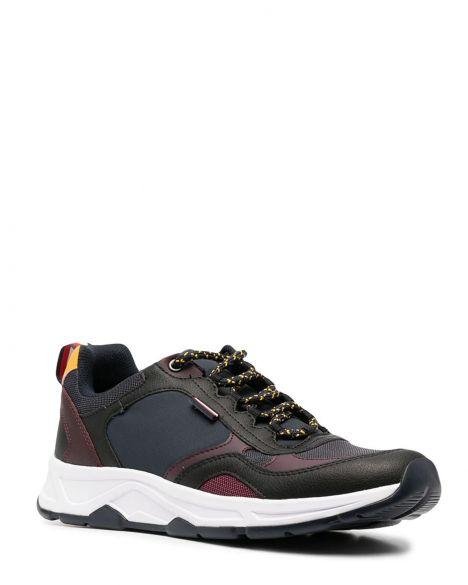 Tommy Hilfiger Fashion Mix Erkek Sneaker FM0FM03083 Navy Blue