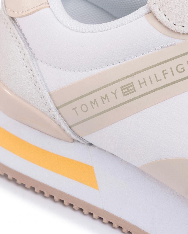 Tommy Hilfiger Feminine Active City Sneaker Kadın Ayakkabı FW0FW04696 White