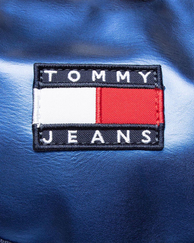 Tommy Hilfiger Heritage Sm Flap Kadın Sırt Çantası AW0AW09743 Gulf Coast Blue