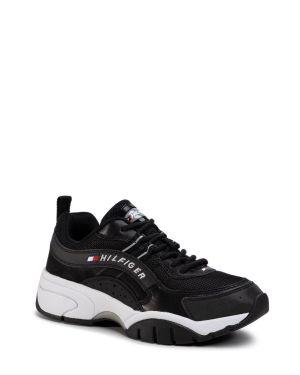 Tommy Hilfiger Heritage Tommy Jeans Runner Erkek Ayakkabı EM0EM00397 Black