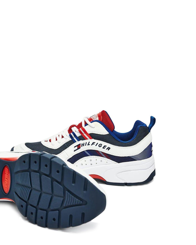 Tommy Hilfiger Heritage Tommy Jeans Runner Sneakers EM0EM00482 RWB