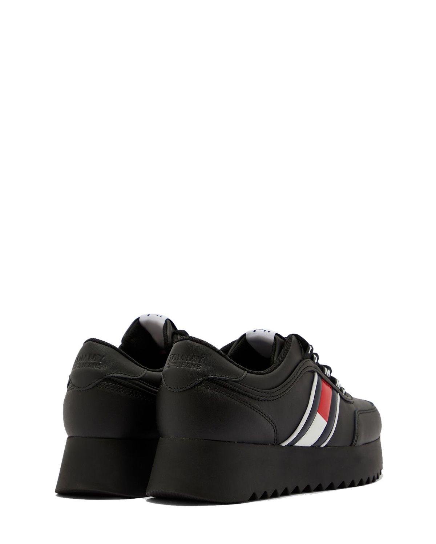 Tommy Hilfiger High Cleated Tommy Jeans Kadın Sneaker EN0EN00948 Black