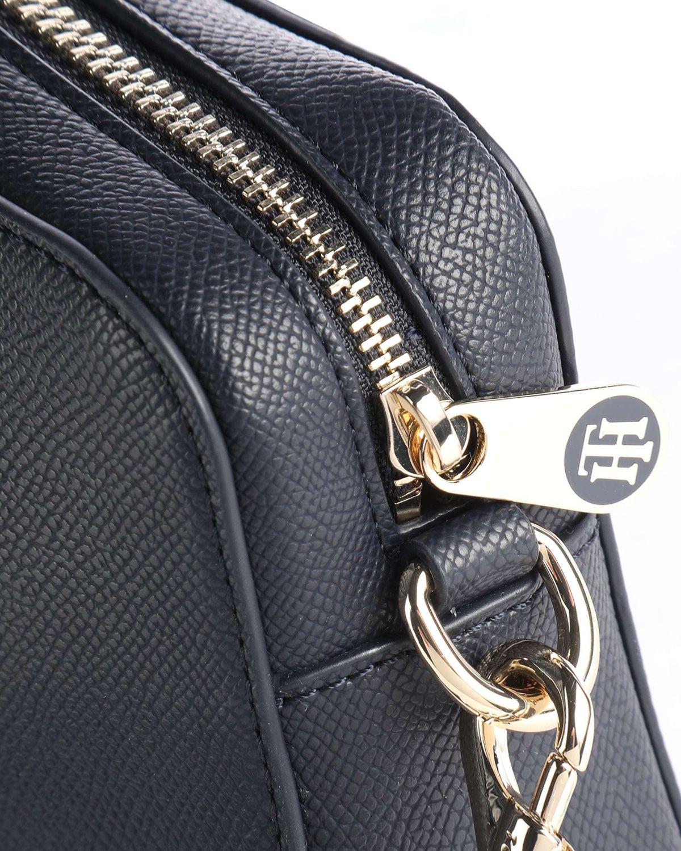 Tommy Hilfiger Honey Camera Bag Çapraz Askılı Kadın Çantası AW0AW10042 Blue / Corporate