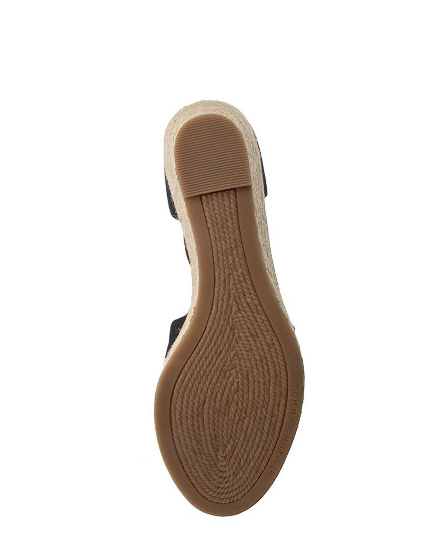 Tommy Hilfiger Iconic Elba Sandal Kadın Sandalet FW0FW00906 Navy Blue
