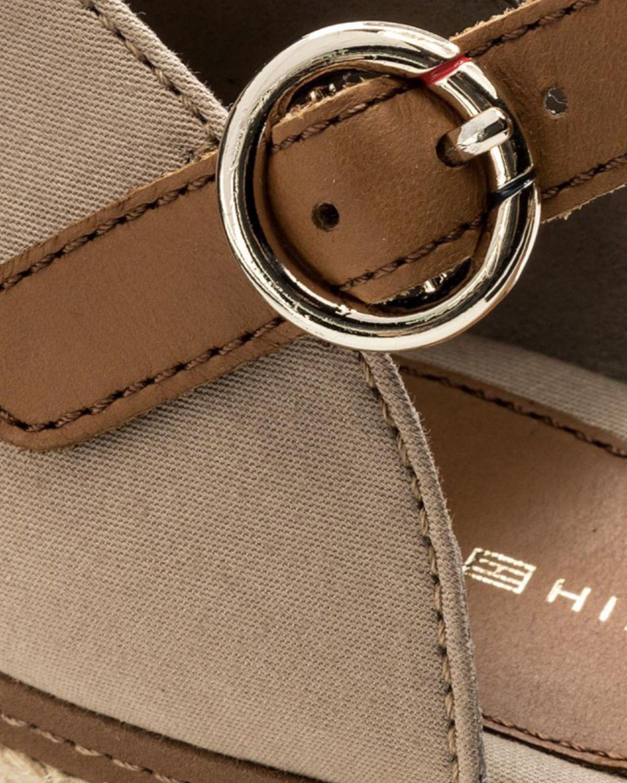Tommy Hilfiger Iconic Elba Sandal Kadın Sandalet FW0FW00906 Brown