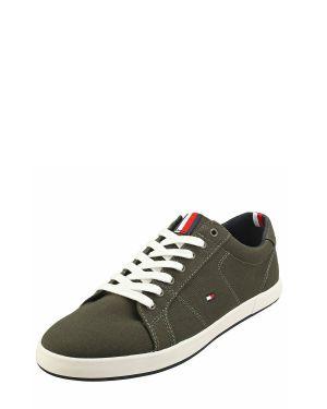 Tommy Hilfiger Iconic Long Lace Sneaker Erkek Ayakkabı FM0FM01536 Grey