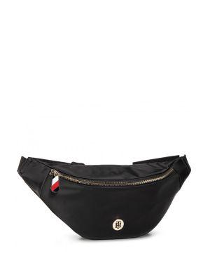 Poppy Bumbag Solid Kadın Bel Çantası  Black