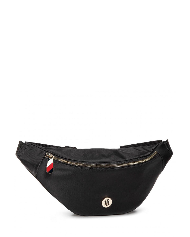 Tommy Hilfiger Poppy Bumbag Solid Kadın Bel Çantası AW0AW08825 Black