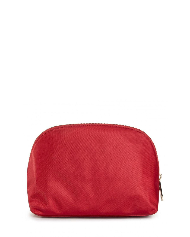 Tommy Hilfiger Poppy Washbag Corp Makyaj Çantası AW0AW08908 Arizona Red