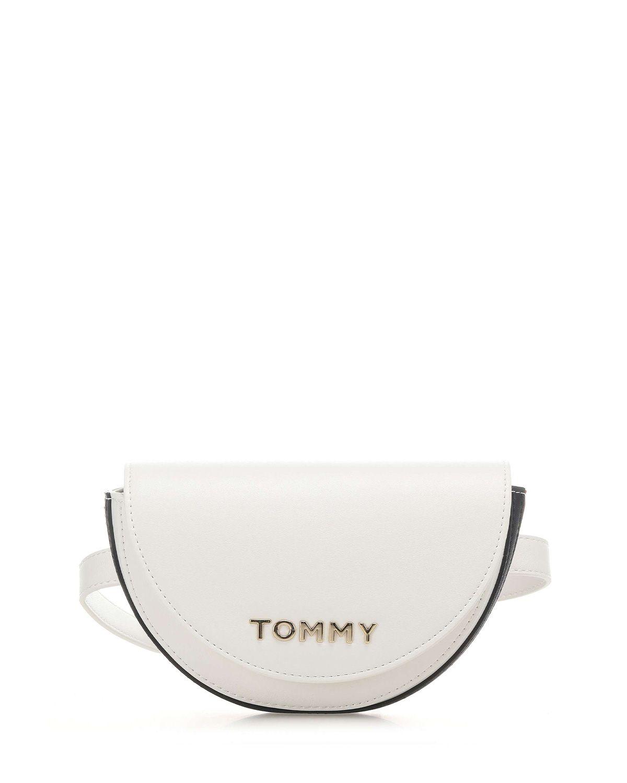 Tommy Hilfiger Staple Kadın Bel Çantası AW0AW08307 Bright White