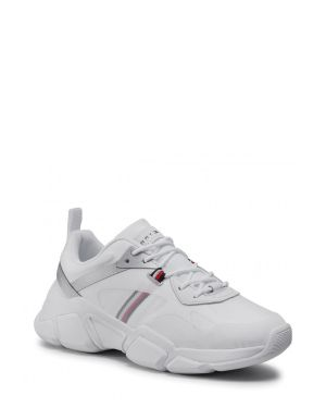 Tommy Hilfiger Technical Chunky Tommy Sneakers FW0FW04996 White / Silver