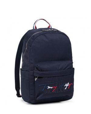 Th Signature Backpack Erkek Sırt Çantası  Navy Blue