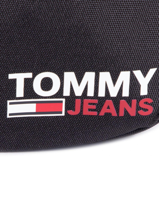 Tommy Hilfiger Tjm Campus Boy Reporter Çapraz Askılı Erkek Çantası AM0AM06428 Black