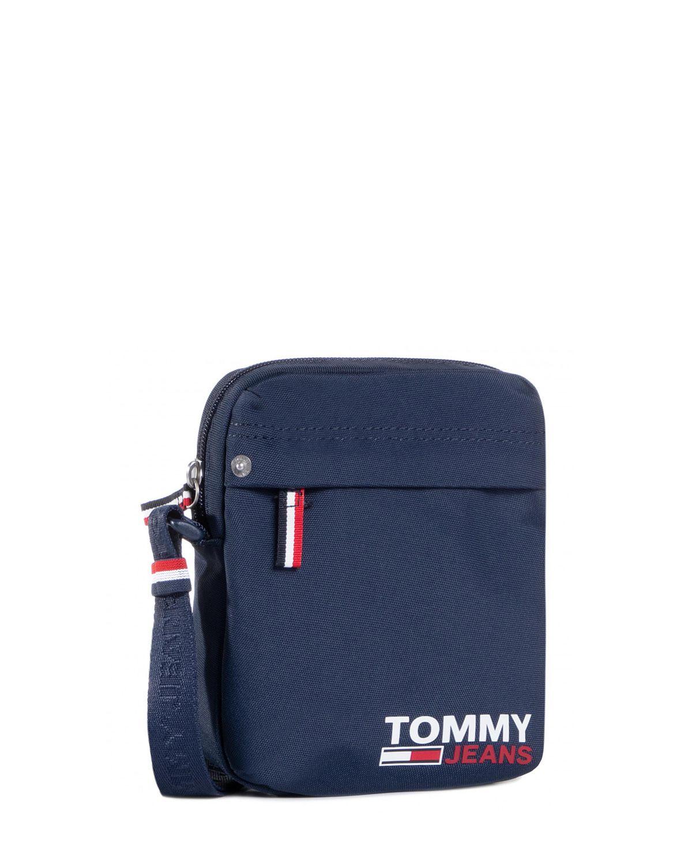 Tommy Hilfiger Tjm Campus Boy Reporter Çapraz Askılı Erkek Çantası AM0AM06428 Twilight Navy
