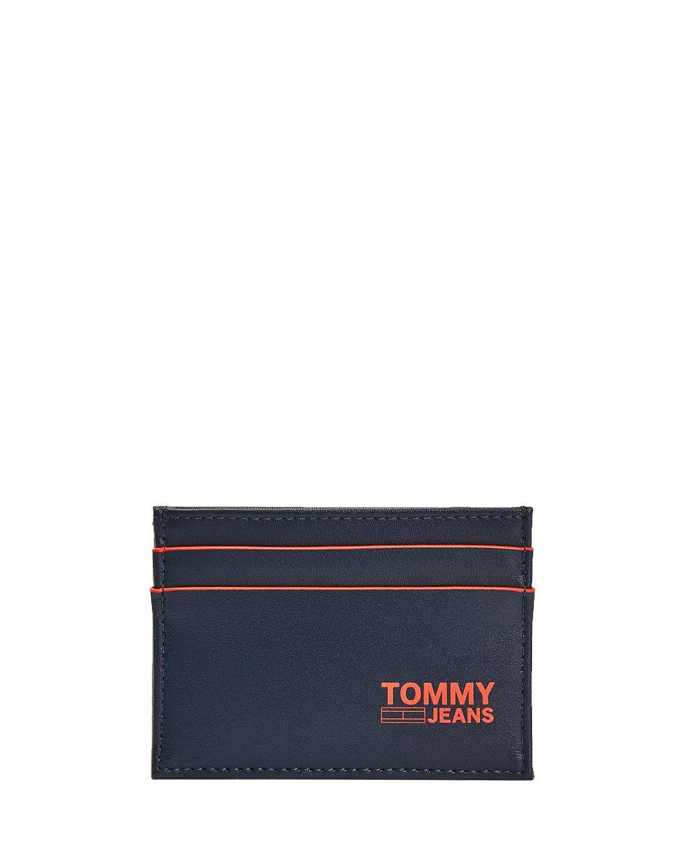 Tommy Hilfiger Tjm Cc Holder Recycled Kartlık AM0AM06652 Twilight Navy