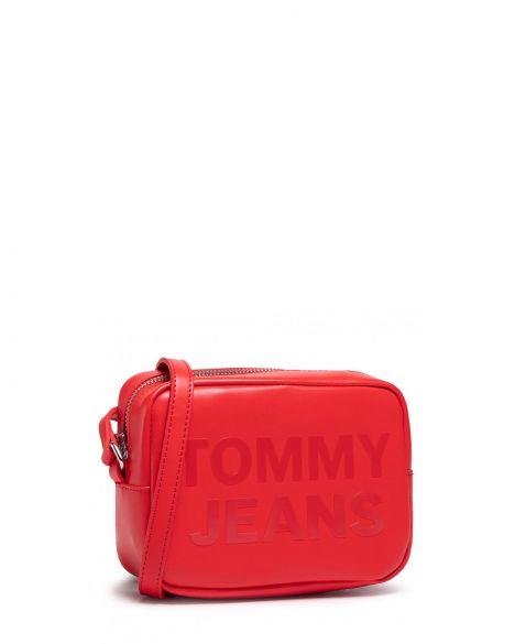 Tommy Hilfiger Tjw Camera Bag Çapraz Askılı Kadın Çantası AW0AW09853 Deep Crimson