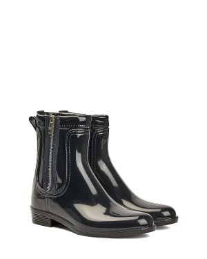 Tommy Hilfiger Tommy Glossy Rainboot Kadın Yağmur Botu FW0FW05180