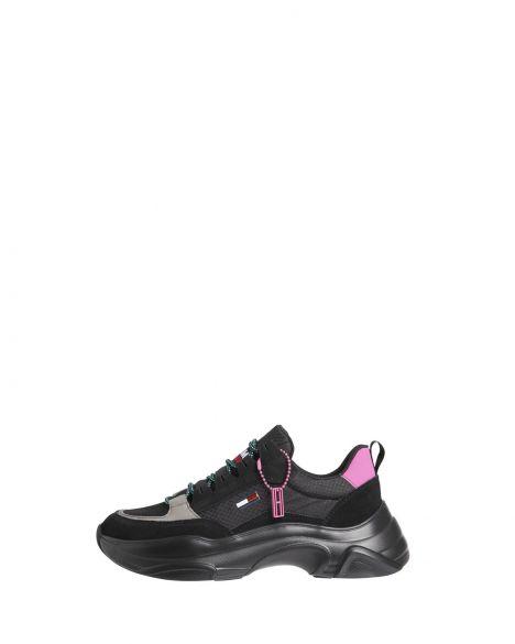 Tommy Hilfiger Tommy Jeans Hybrıd Shoe Kadın EN0EN01588 Black