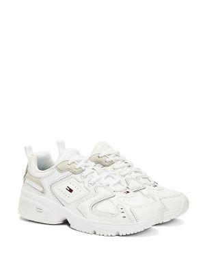 Tommy Hilfiger Wmn Heritage Tommy Jeans Kadın Sneaker EN0EN00947 White