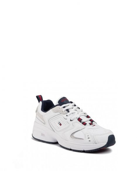 Tommy Hilfiger Wmns Heritage Kadın Sneakers EN0EN00721 White