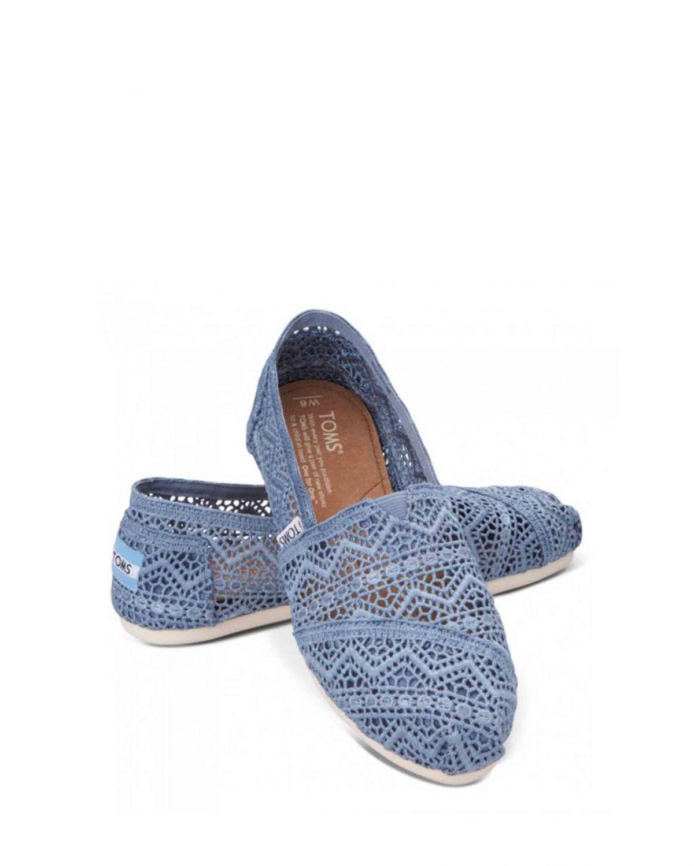 Toms Classics Denim Crochet 10001369 Denim - Mavi