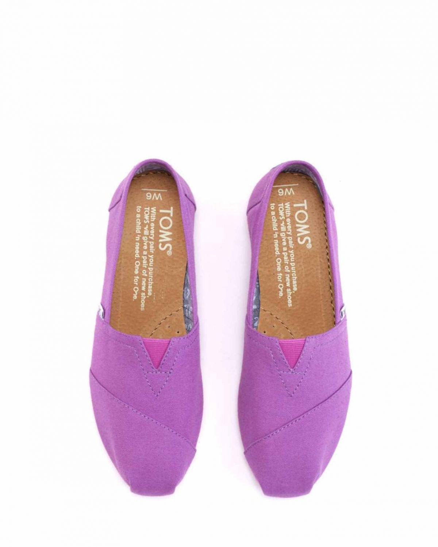 Toms Classics Purple Canvas 10001921 Mor